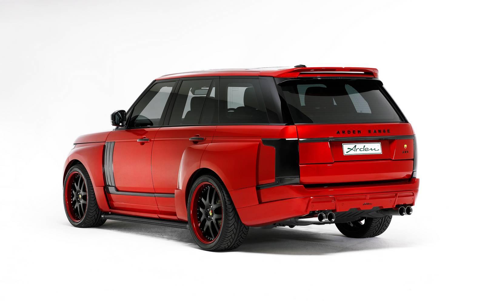 Range Rover AR 9 Spirit Special Edition тюнинг от Arden