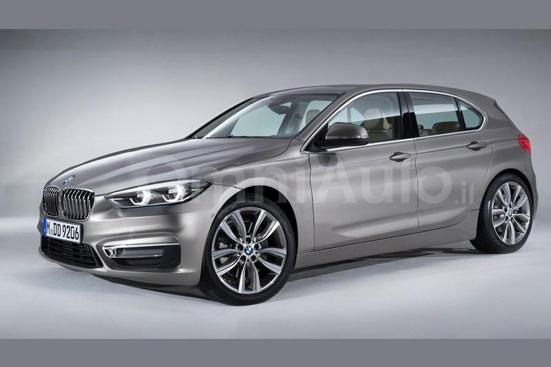 BMW 1-Series хэтчбек новое поколение рендер