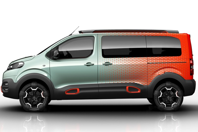 Citroen SpaceTourer HYPHEN концепт