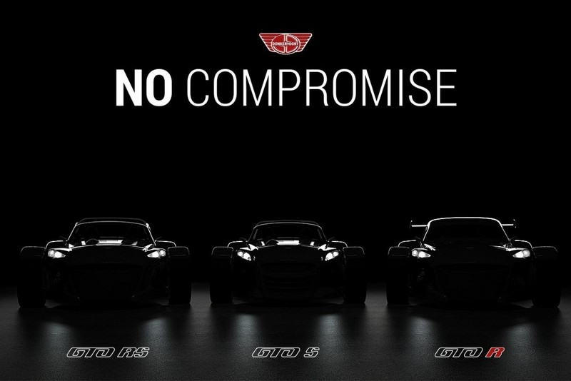Donkervoort D8 GTO тизер моделей 2016 года