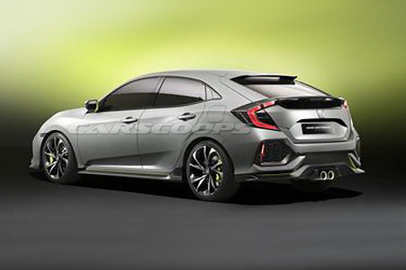 Honda Civic Hatchback концепт (утечка)