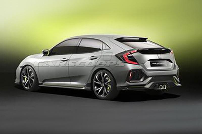 Honda Civic Hatchback концепт (утечка)