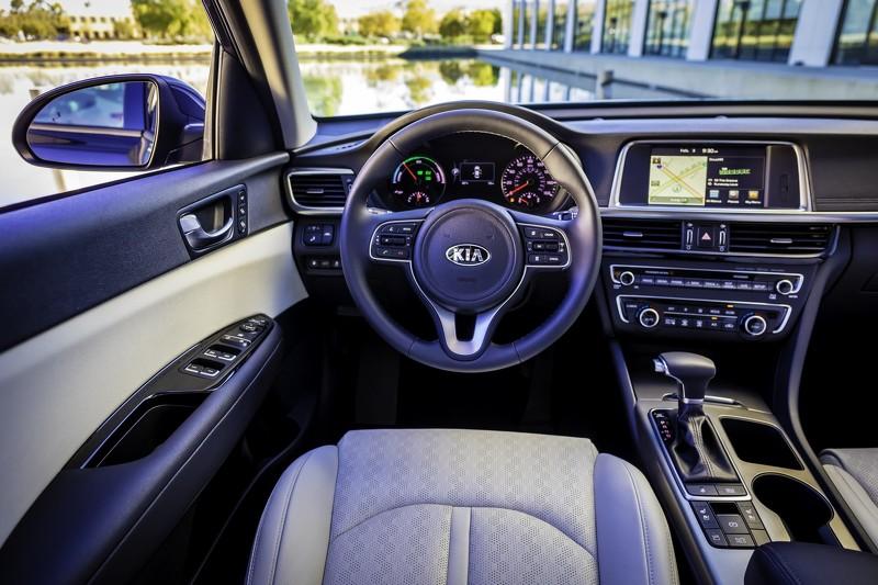 Kia Optima Hybrid/Plug-in Hybrid 2017