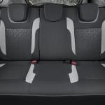 Lada Xray интерьер (заднее сидение)