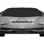 Lamborghini Centenario LP 770-4 патентное изображение