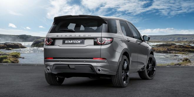 Land Rover Discovery Sport получил тюнинг перед Женевой