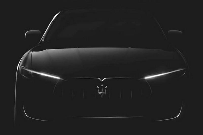 Maserati Levante тизер первого внедорожника
