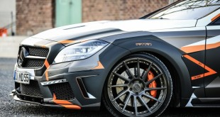 Mercedes CLS 500 Black Edition Stealth тюнинг от M&D exclusive cardesign