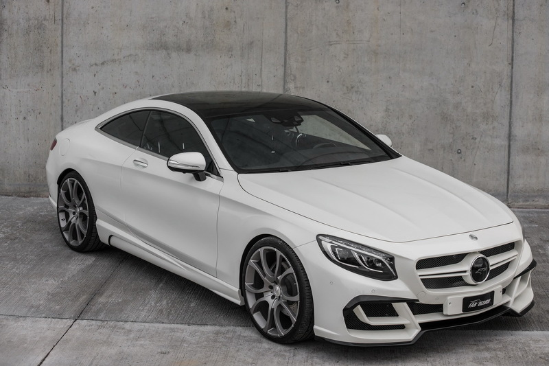 Mercedes S-Class Coupe тюнинг от Fab Design