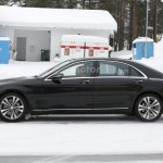 Mercedes-Benz S-Class шпионские фото обновленной версии W222