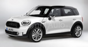 Mini Countryman 2017 рендер