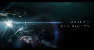 Morgan EV3 тизер электромобиля для Женевского автосалона