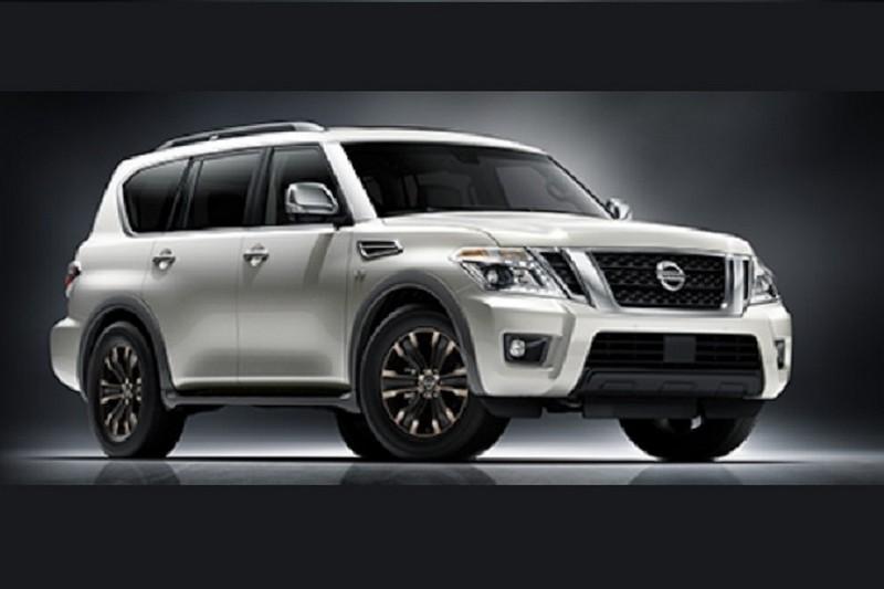 Nissan Armada 2017 официальное фото (утечка)
