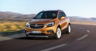 Opel Mokka X 2016 официальное фото