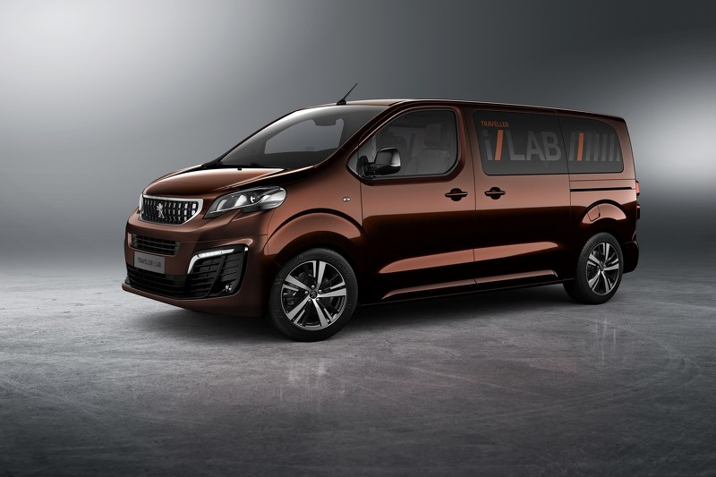 Peugeot Traveller i-Lab VIP 3.0 Shuttle концепт