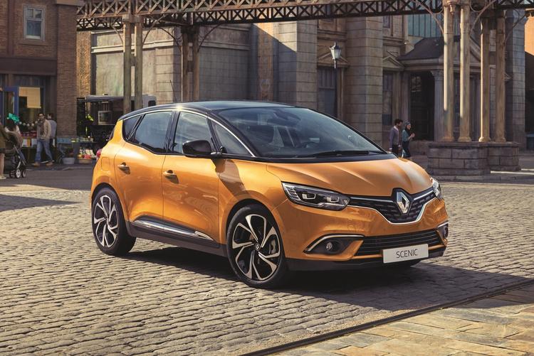 Renault Scenic фото утечка
