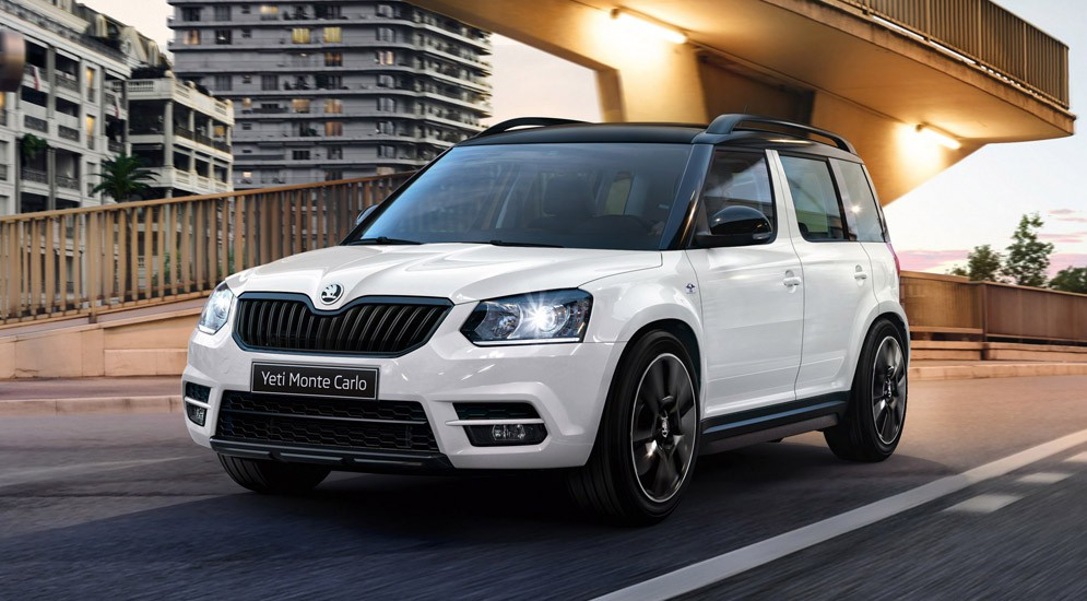 skoda rapid yeti monte carlo. Black Bedroom Furniture Sets. Home Design Ideas