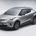 Toyota C-HR фото серийной модели (утечка)