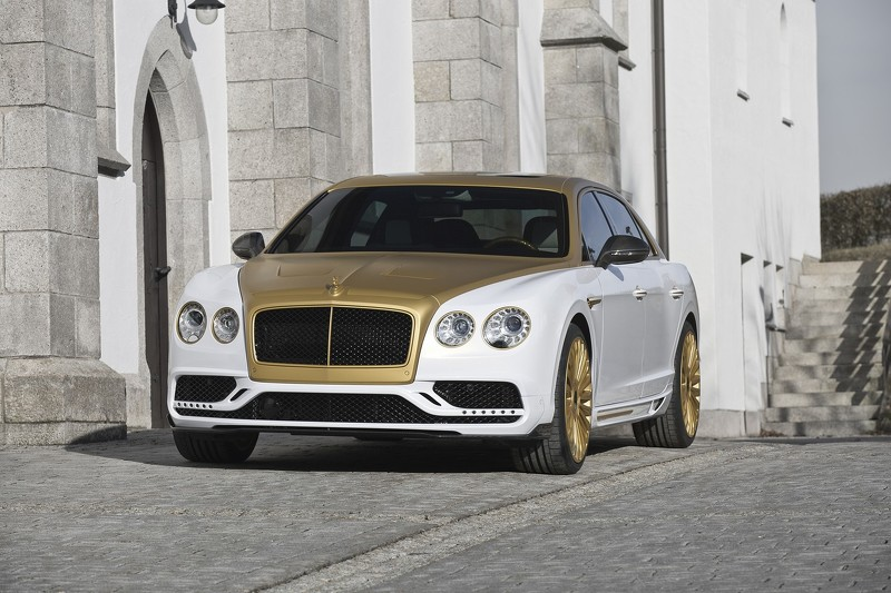 Bentley Flying Spur тюнинг от Mansory