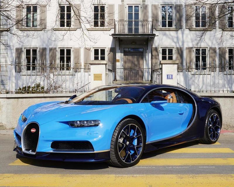 Bugatti Chiron в Parmigiani Fleurier