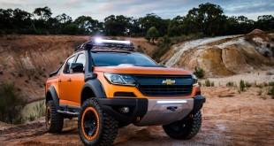 Chevrolet Colorado Xtreme и Trailblazer Premier концепты