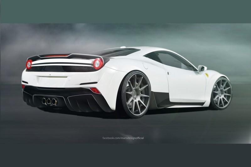 Ferrari 458 Italia тюнинг от Atarius Concept