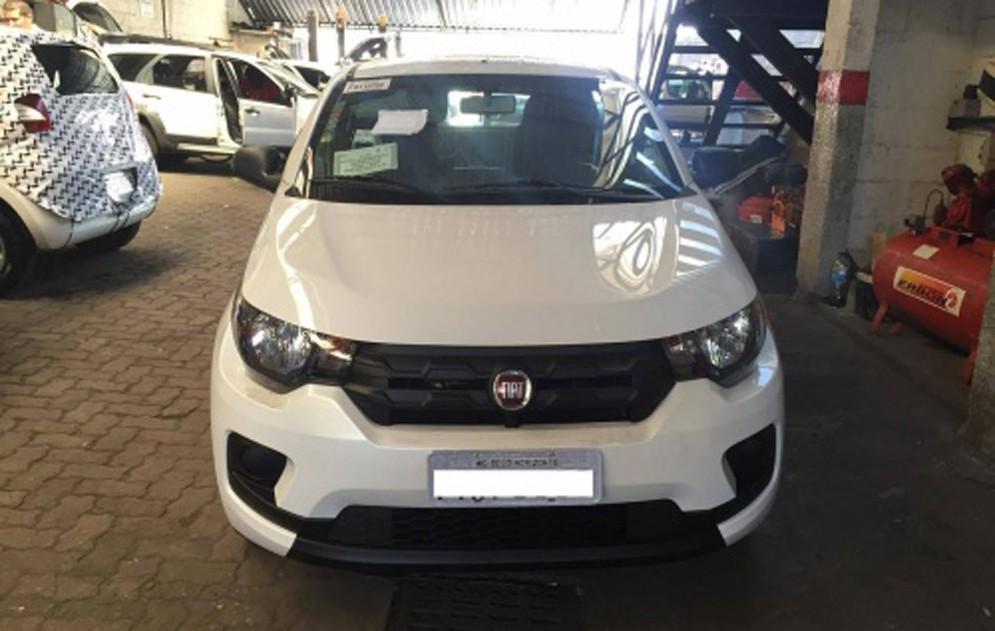 Fiat Mobi шпионское фото
