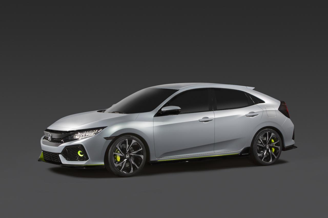 Honda Civic Hatchback прототип