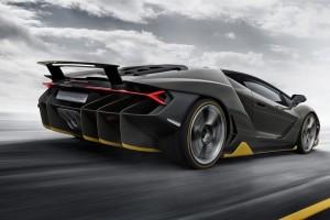Lamborghini Centenario официальное фото
