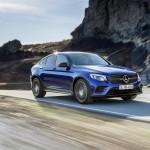 Mercedes GLC Coupe 2016 официальное фото
