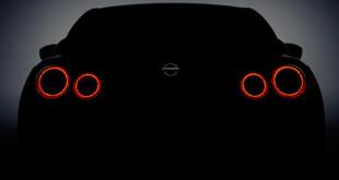 Nissan GT-R 2017 тизер для Нью-Йорка
