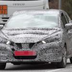 Nissan Micra 2017 шпионское фото
