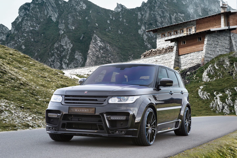 Range Rover Sport тюнинг от Mansory