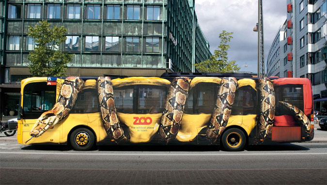 Реклама на транспорте - брендирование авто