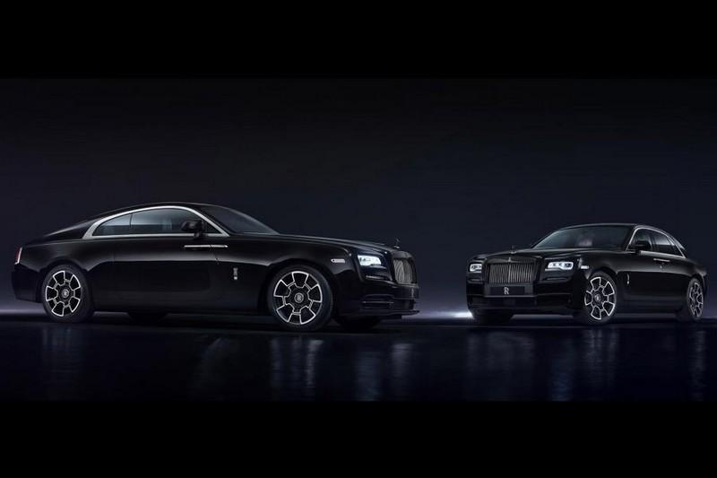 Rolls-Royce Ghost и Wraith Black Badge Edition