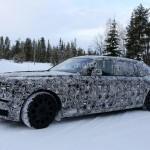 Rolls-Royce Phantom 2018 шпионское фото