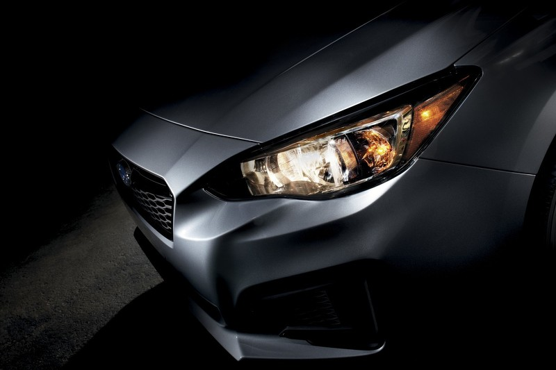 Subaru Impreza 2017 тизер