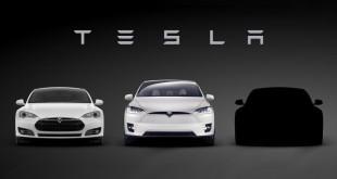 Tesla Model 3 тизер
