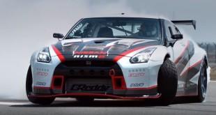 Nissan GT-R Nismo - мировой рекорд самого быстрого дрифта