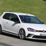 Volkswagen Golf GTI Clubsport S первые шпионские фото