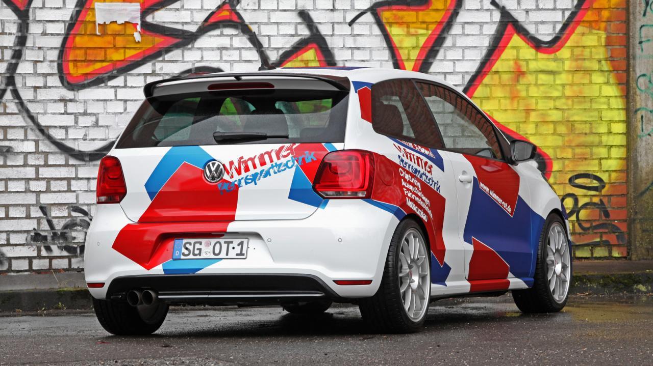 Volkswagen Polo R WRC Street тюнинг от Wimmer Rennsporttechnik