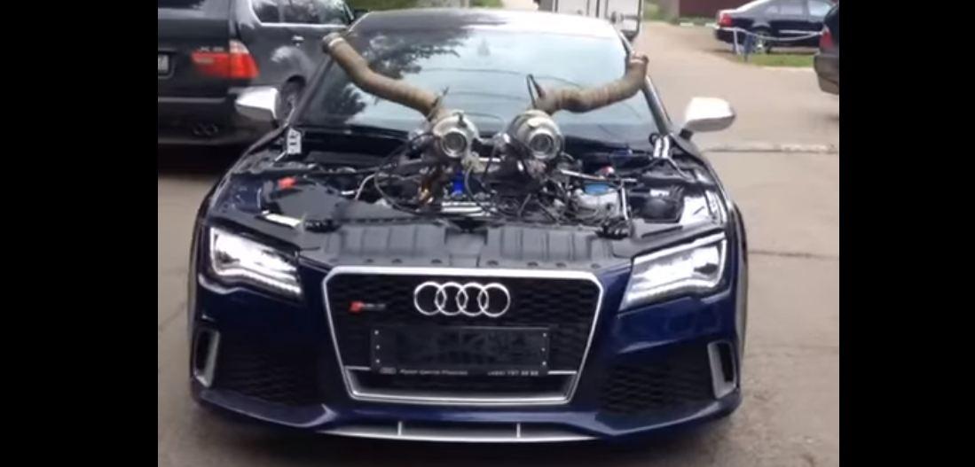 Audi RS7 тюнинг от Total Race