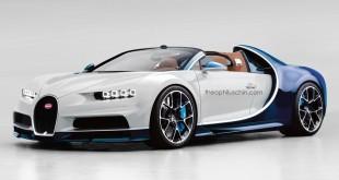 Bugatti Chiron Grand Sport рендер Theophilus Chin