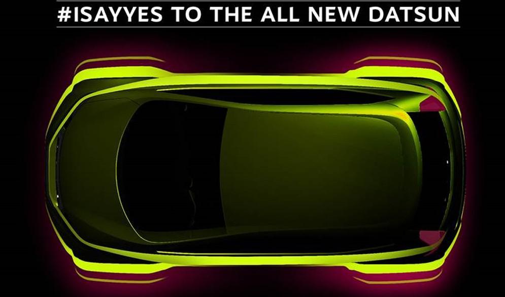 Datsun тизер субкомпактного хэтчбека