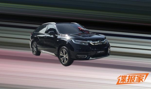 Honda UR-V шпионское фото
