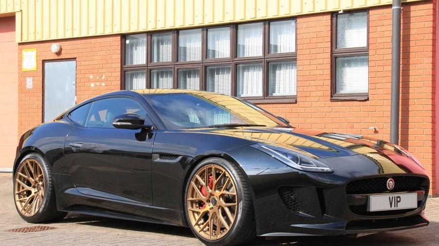 Jaguar F-Type R AWD Coupe тюнинг от VIP Design