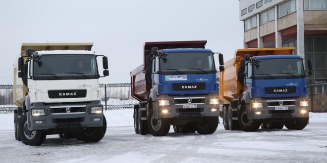 КАМАЗ выпустил первые самосвалы нового модельного ряда