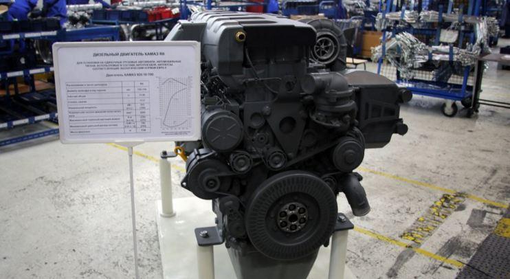КАМАЗ Р6 двигатель