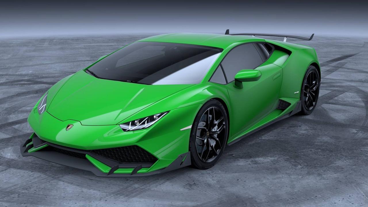 Lamborghini Huracan новый заводской аэропакет