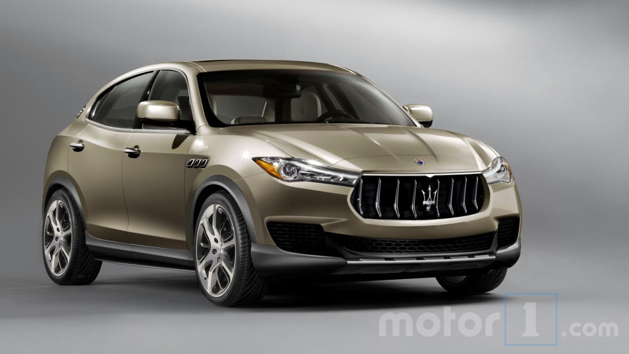 Maserati Kubang 2018 фото-утечка